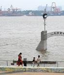 长江南京段水位有所上涨
