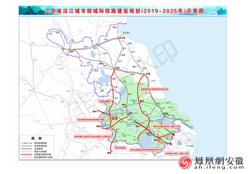 最新一批城际铁路规划获国家批复 影响安徽5地市人民出行