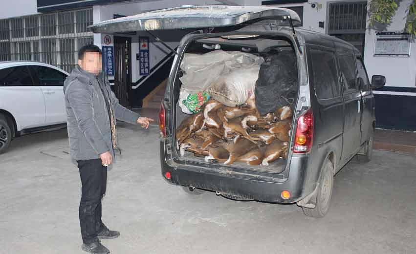 陕西:司机面对检查掉头逃跑