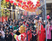 西峡旅游春节假期人气爆棚