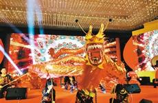 展示民族文化自信 陕西非遗民俗走进五星级酒店