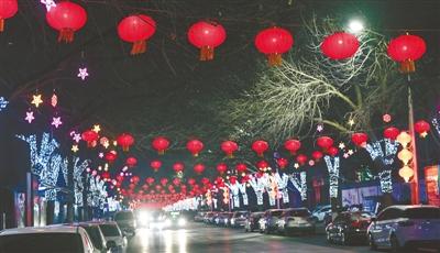 我市126条实施夜景亮化提升的道路,将在元宵节期间全部放亮
