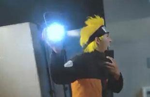 用手机和镜子拍出《火影忍者》定格动画