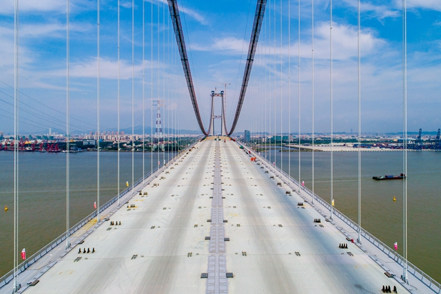虎门二桥4月2日通车 广州南部至东莞将缩短半小时