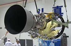 航天六院研制的长六甲火箭发动机在陕试车成功