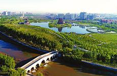 """从""""沙漠之城""""到""""绿色之城"""" 陕西榆林的华丽转身"""