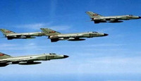 解放军多机编队沿台湾岛巡航,台媒:台F-16紧急升空