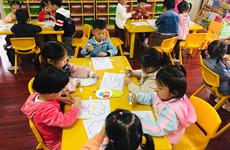 """西安全市幼儿园开展""""阳光宝贝健康年""""活动"""
