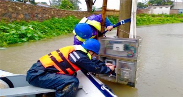 广东连日暴雨致13万户用电受影响 近九成已恢复