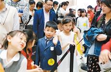 2000多名中小学生参加陕西省青少年诵读大赛海选