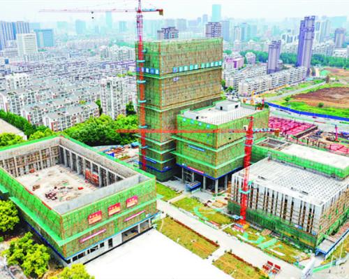合肥工人文化宫 建设快马加鞭