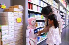 国内首个校园扶贫无人超市线下零售门店落户西北大学