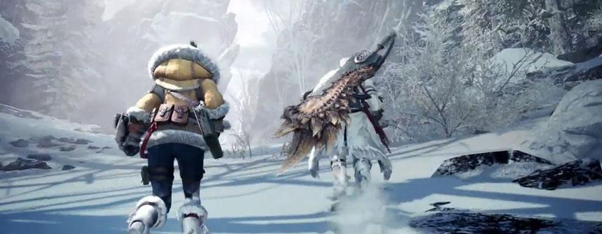 《怪物獵人世界:冰原》 9月6日全球同步登陸PS4
