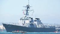 本月第2次!美舰擅闯中国南海黄岩岛遭警告驱离