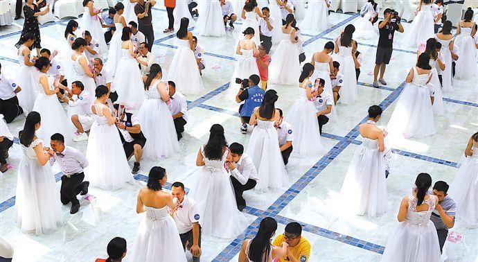 """浪漫""""520""""广州婚姻登记1625对 从化区占首位"""