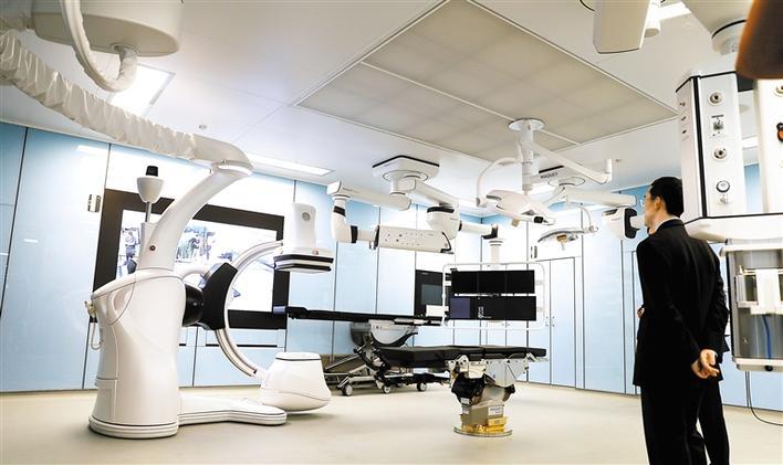 深圳首個頂級復合手術室揭牌