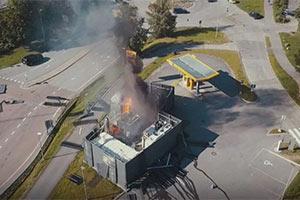 """加氢站爆炸起火!这种新能源活该被""""终结""""?"""