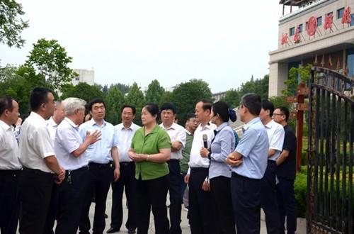 河南省政协副主席周春艳莅临杜康调研