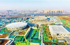 西安奥体中心项目预计将于今年年底全部完工