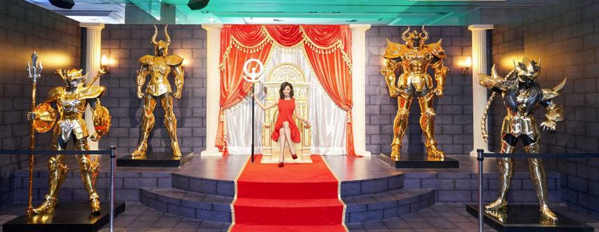 圣斗士星矢燃烧30年主题展 全1:1黄金圣衣到齐