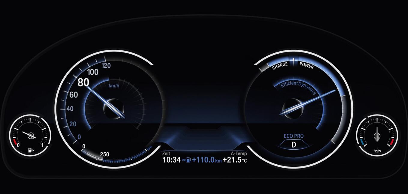 2018款宝马320li仪表盘