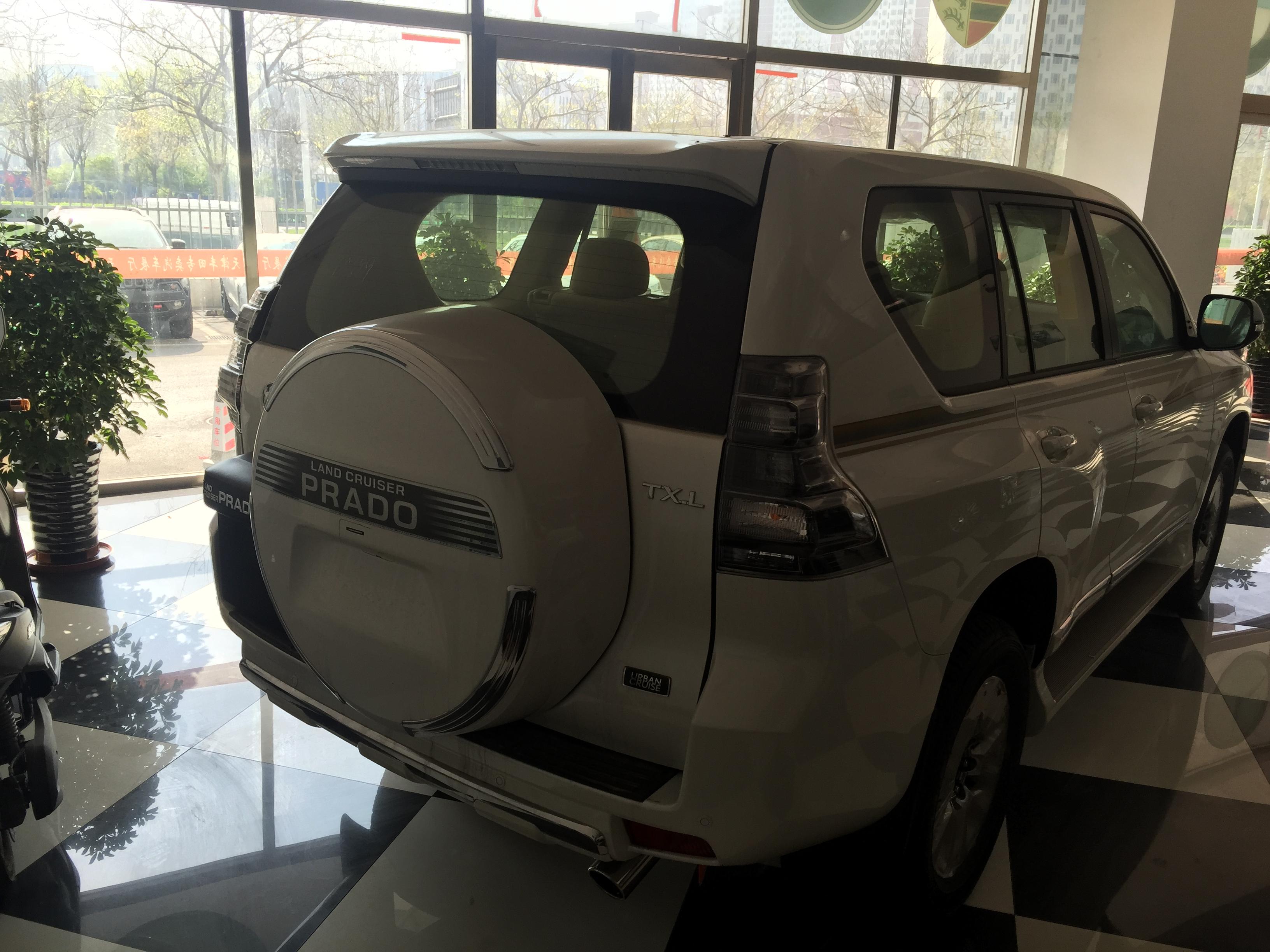 17款丰田霸道2700 黎巴嫩限量版优惠价