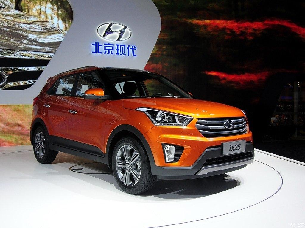 北京现代ix25报价 现代ix25最低多少钱 裸车销售
