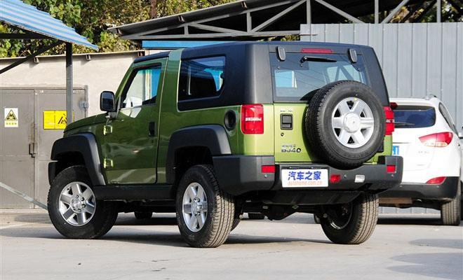 北京汽车bj20最新优惠价格11月bj40走量低价促销