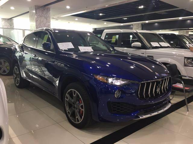2017款玛莎拉蒂莱万特SUV 现车到店最新优惠报价
