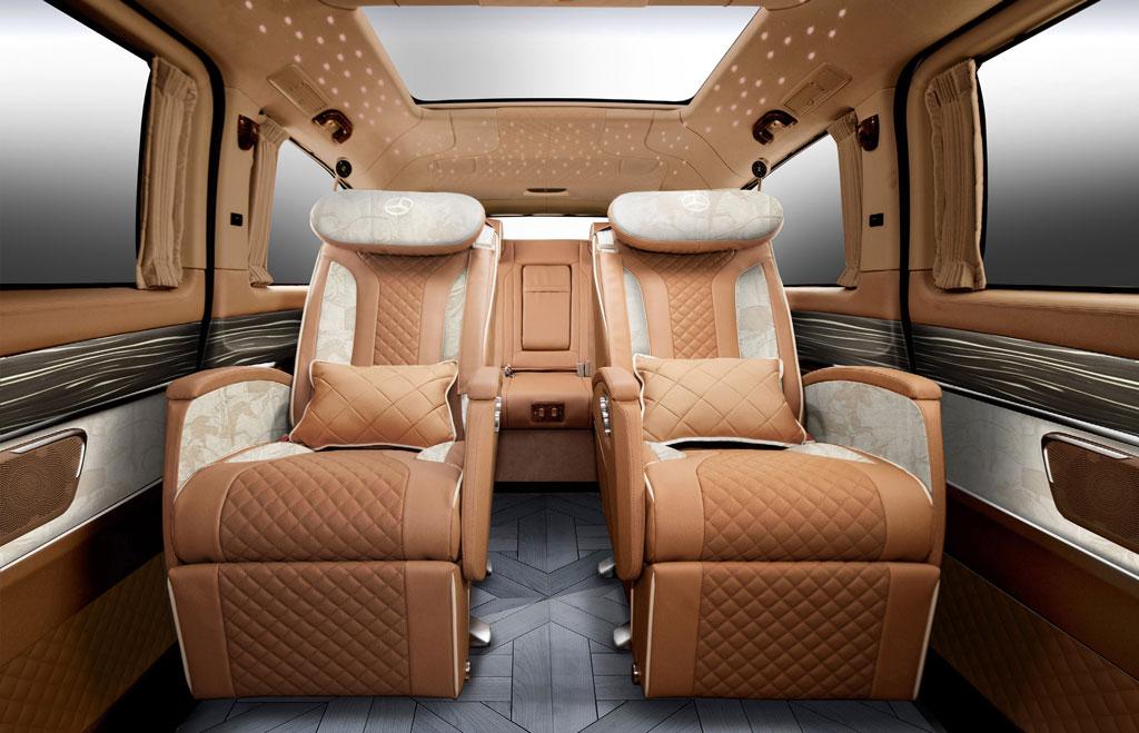 湖州奔驰v级内饰改装升级v260配置价钱 高经理 :19967484301