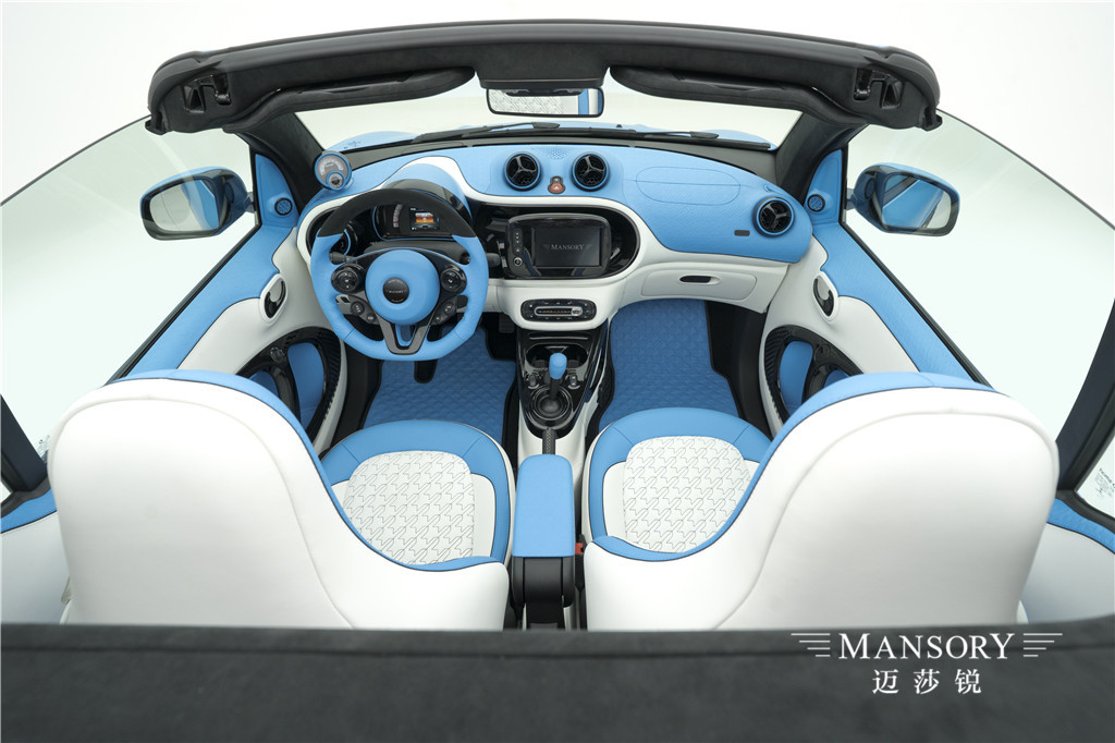 mansory为Smart敞篷版提供酷炫方案 咨询热线:400-168-8588