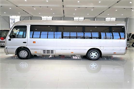 一汽考斯特专卖¥柯斯达11座高端商务车