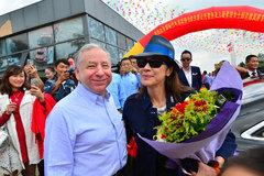国际汽联主席托德携妻杨紫琼首访云南