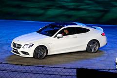 全新AMG C63 Coupe上市 售102.80万起