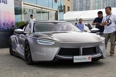 体验汉能太阳能动力汽车 任重道远