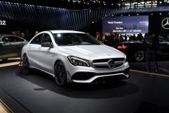造型升级 奔驰新款CLA将于下半年入华