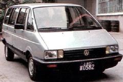 原来27年前上汽大众就有桑塔纳MPV了