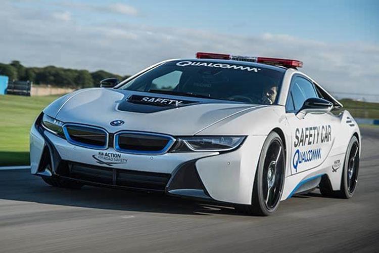 试电动方程式比赛安全车 BMW Mi8雏形