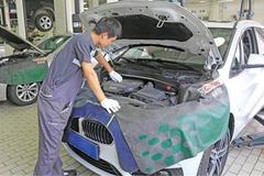 体验国产宝马2系旅行车保养 高效/贴心