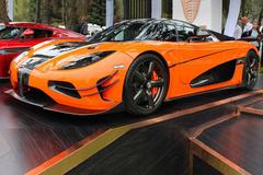 柯尼塞格Agera增特别车型 超大尺寸尾翼