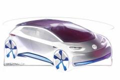 大众全新纯电动概念车 亮相巴黎车展