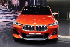 2016巴黎车展:宝马X2概念车首发亮相