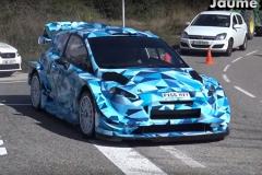WRC版福特嘉年华谍照曝光 外观改动明显
