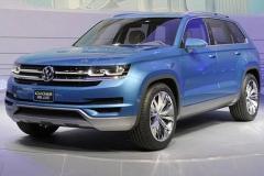 大众新7座SUV北美版更名 或将在11月亮相