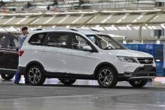 开瑞SUV车型K60谍照曝光 采用7座设计