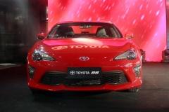 新款丰田86正式上市 售24.98-28.78万