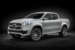 奔驰X级概念皮卡 量产版明年底推出