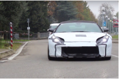 法拉利F12后续车型曝光 采用自吸发动机
