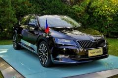 捷克大使继续选择斯柯达速派作为公务用车