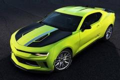 科迈罗Turbo AutoX概念车 黄绿车身耀眼